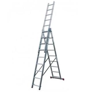 Професионална трираменна стълба Krause Corda 3x09