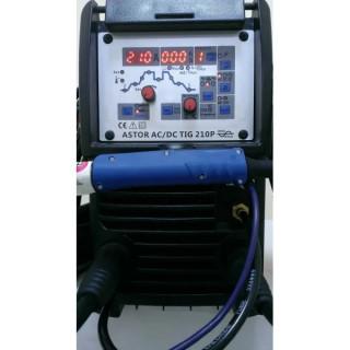 Аргонов апарат TIG210P AC/DC с допълнителна функция електрожен, TIG TAG