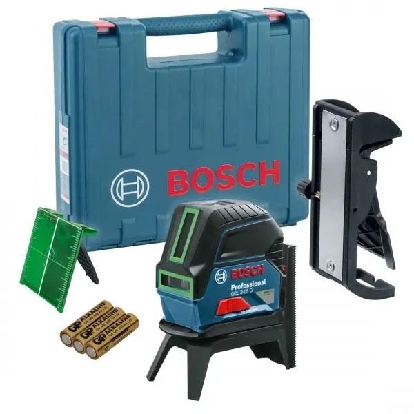 Линеен лазерен нивелир Bosch GCL 2-15G - 15м