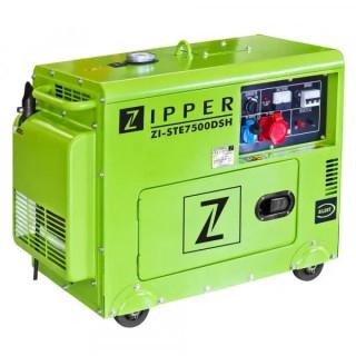 Трифазен дизелов генератор ZIPPER ZI-STE7500DSH / 6.5 kW