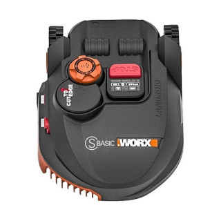 Косачка робот WORX Landroid S Basic WR094S /20 V, Li-Ion, 2.0Ah/