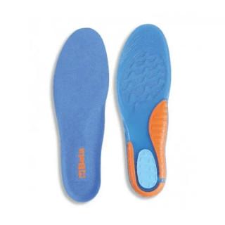 Анатомични стелки за обувки с гел вложка, 7398U 41-46 размер, Beta Tools