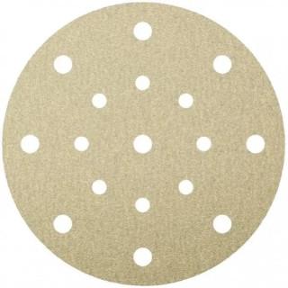 Шлифовъчен диск велкро бял  KLINGSPOR PS 33 CK - P40 / Ф 150 мм
