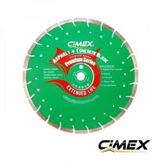 Комбиниран диамантен диск за бетон и асфалт 350 мм.