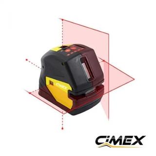Точков / линеен лазерен нивелир с 5 точки CIMEX SL5D