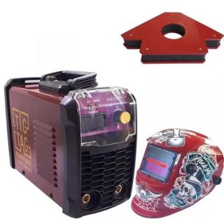 Инверторен електрожен TIGTAG MMA200HH с фотосоларна маска и магнит