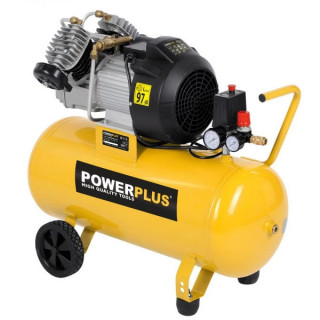 Компресор POWER PLUS POWX1770 / 2.2kW, 50 L, 9 bar