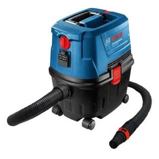 Прахосмукачка Bosch електрическа за сухо и мокро почистване 1100 W, 3180 л/мин, GAS 15