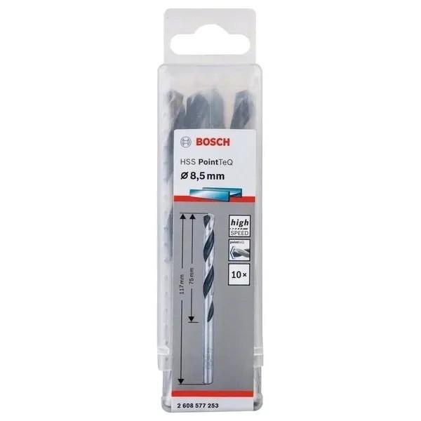Свредло HSS за метал Bosch PoinTec 8.5 mm / комплект 10 бр