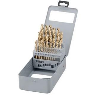 Свредло за метал комплект Fervi P062