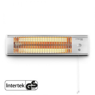 Инфрачервен лъчист отоплител TROTEC IR 1200 S, 1200 W, с 2 топлинни настройки