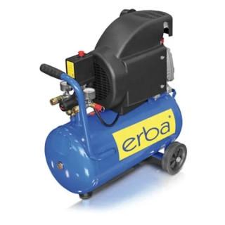 Бутален компресор Erba / 1.5 kW, 24 л. 8 bar