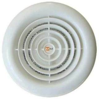 Вентилатор за стенен монтаж, намалена дължина MMotors, ф100 мм, 60 м3/h, MM 100