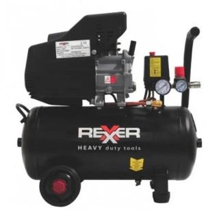 Маслен компресор за въздух Rexxer RH-13-503 / 1,5 kW / 24 l