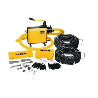 Машина за почистване на тръби и канали REMS COBRA 32 Set 22+32