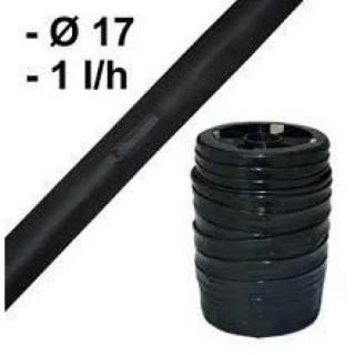 Капков лентов маркуч ф17мм 1l/h 100м с капкообразуватели през 15см Herly