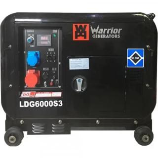 Дизелов генератор 6000 W CHAMPION WARRIOR LDG6000S3 380V