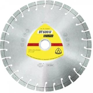 Диамантен диск за рязане KLINGSPOR DT600U Supra