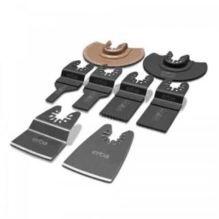 Комплект ножове за мултишлайф Erba 8 части 33087