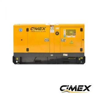 Дизелов генератор 110 kW обезшумен CIMEX SDG140 - 138 kVA