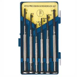 Отвертка Fervi комплект за фина механика SB/PH 6 бр., 0082