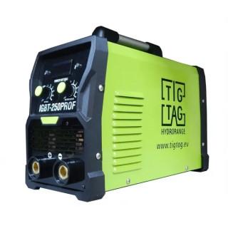 Инверторен електрожен ММА250ProF с 5 метра кабели, TIG TAG