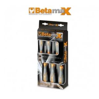 Комплект отвертки 1290 (5 бр) и 1292 (3 бр) BetamaX в представителна опаковка, 1293/D8, Beta Tools