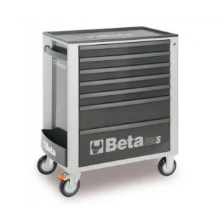 Количка за инструменти BETA, 7 чекмеджета, с комплект от 295 бр. инструменти, сив цвят
