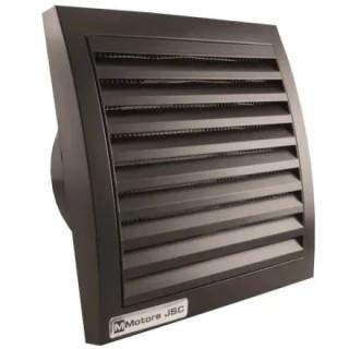 Вентилатор за стенен монтаж MMotors, ф100 мм, 95 м3/h, MM 100, черен