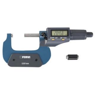 Микрометър Fervi дигитален 75-100 мм, M021/75/100