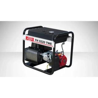 Бензинов трифазен генератор за заваряване FOGO FH9220TWE с уголемен резервоар и ел. старт / 5.2kW