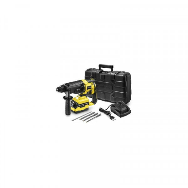 Акумулаторен перфоратор TROTEC PRDS 20-20V, 230-240 V, 2 J, с батерия и зарядно