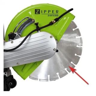 Диамантен диск за строителни материали ZIPPER BTS350DSS