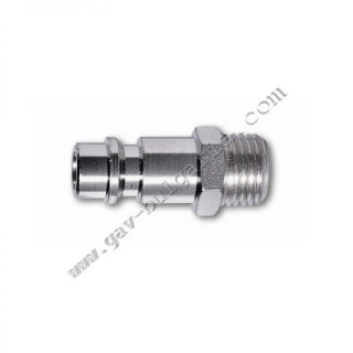 """Съединител бърза връзка - резба пневматичен 1/4"""", 33 мм GAV 113/1"""