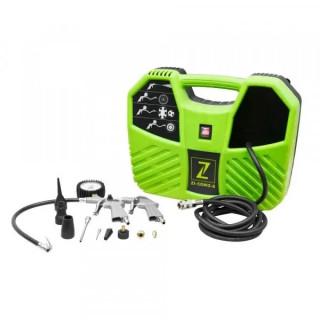 Компресор безмаслен ZIPPER ZI-COM2-8 / 1.1 kW, 180 л/мин