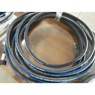 Маркуч за водоструйки и пароструйки-черен l=10000mm, TIG TAG