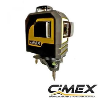 Линеен лазерен нивелир 3D - самонивелиращ CIMEX SL3D