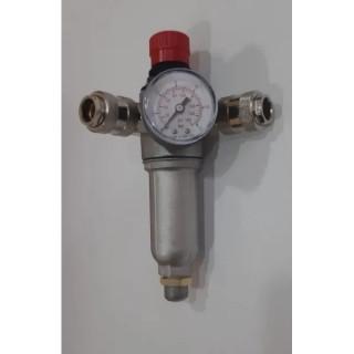 "Регулатор на налягането за компресор STANLEY 9051087 - 2 ИЗВОДА - 3/8"""