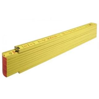 Сгъваем метър STABILA type 707 светло жълт - 2 m / 16 mm