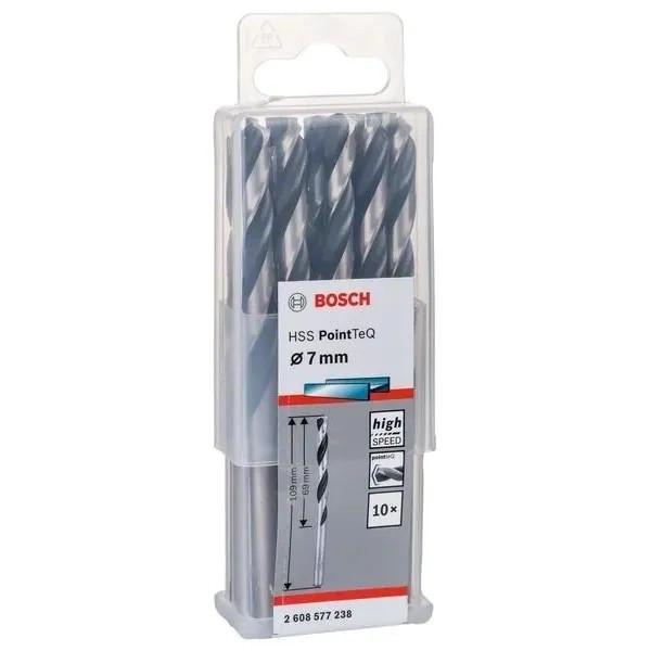Свредло HSS за метал Bosch PoinTec 7.0 mm / 10 бр
