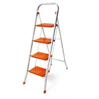 Домакинска метална стълба PSDS 4 стъпала 150кг