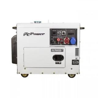 Дизелов трифазен генератор Hyundai DG 7800SE/T