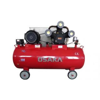 Въздушен, бутален компресор OSAKA HM-W-0.9 / 300L